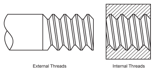 svg freeuse library Screw threads . Drawing bolts sketches