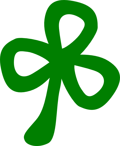 png library library Three Leaf Clover Clip Art at Clker