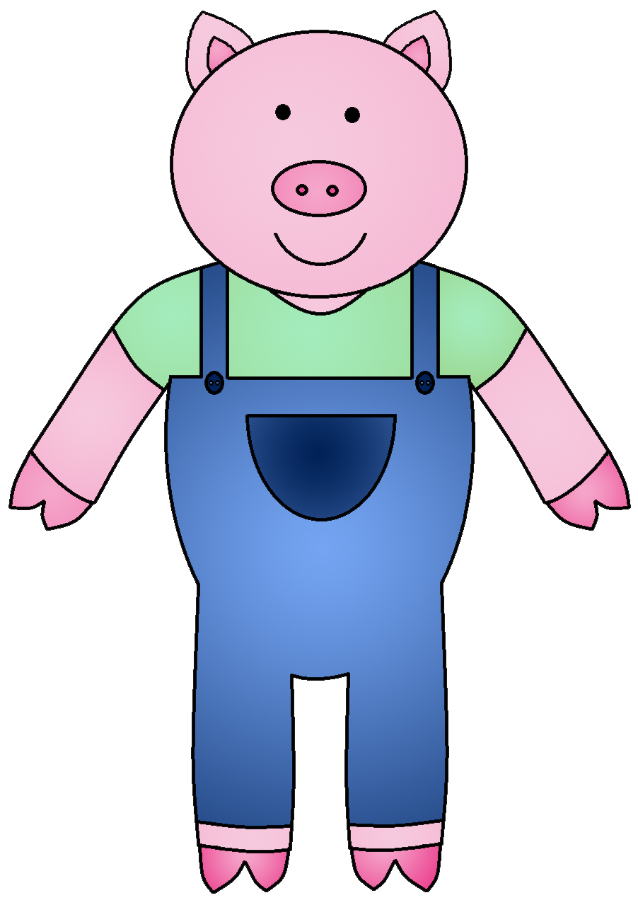 banner transparent library The pigs clipartmonk free. Three little clipart