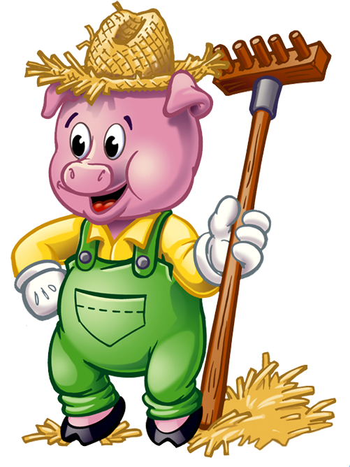 graphic royalty free download Three little clipart. Pigs png hd transparent