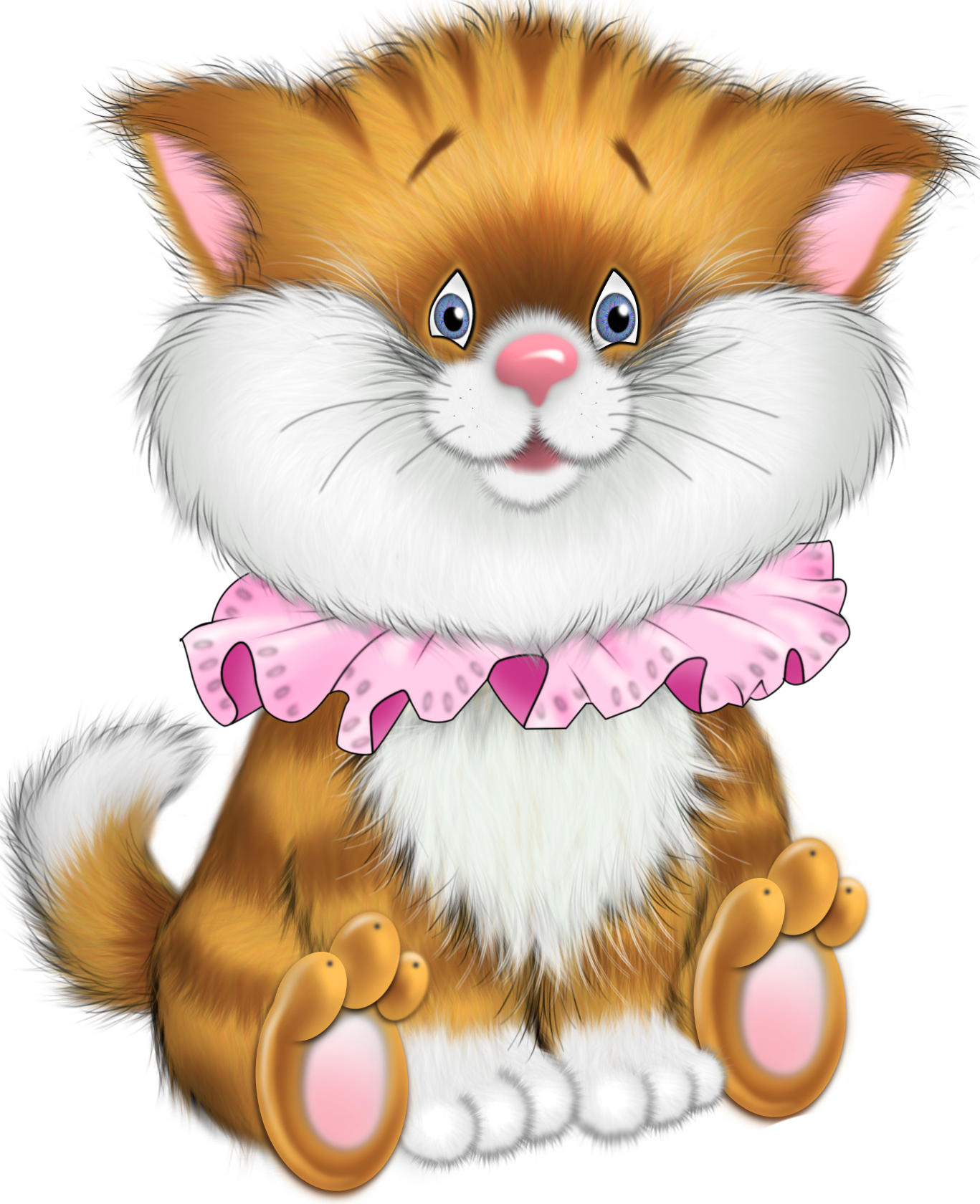 clipart transparent library Kittens clipart illustration. Tiger clip art images.