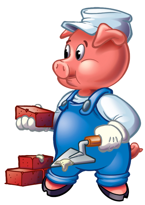 picture Pigs clip art cliparts. Three little clipart