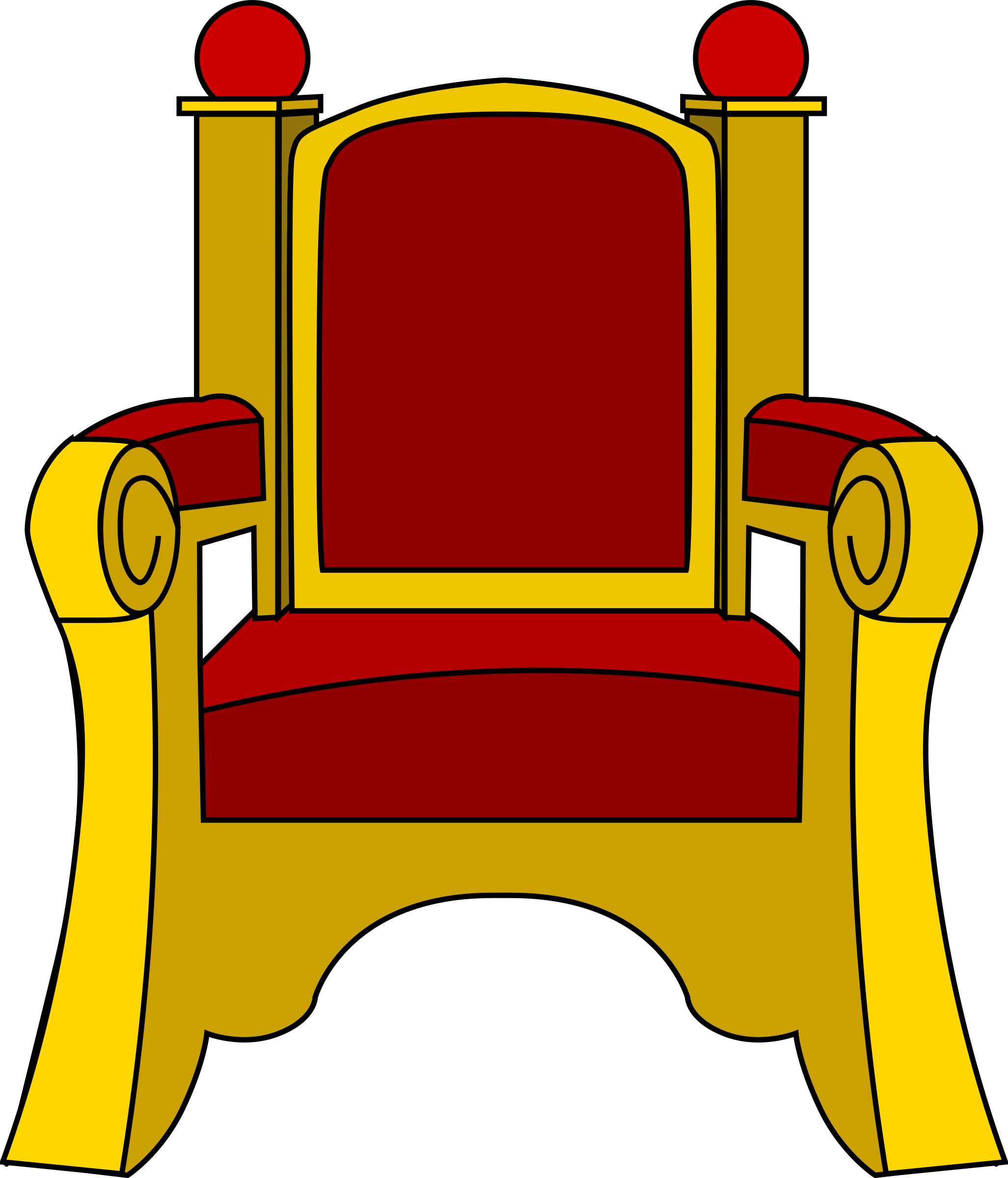 free library Throne clipart. Big image png