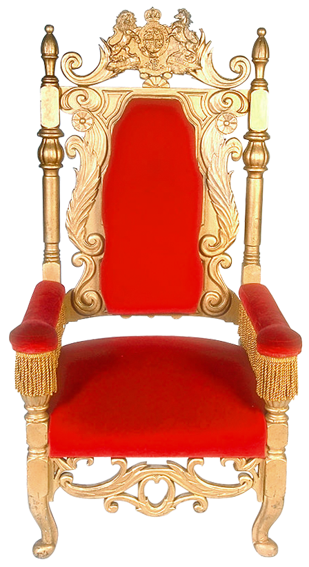 clip art transparent download Transparent red png gallery. Throne clipart.