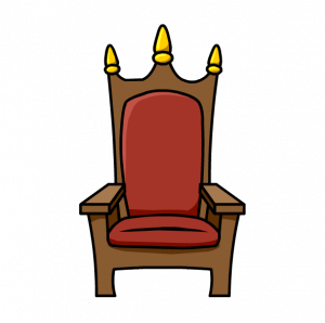 png black and white library White chair bangkokfoodietour com. Throne clipart.