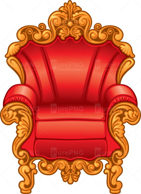 graphic library download Throne clipart. Transparent background free on