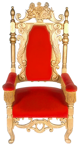 image free stock Transparent Red Throne PNG Clipart