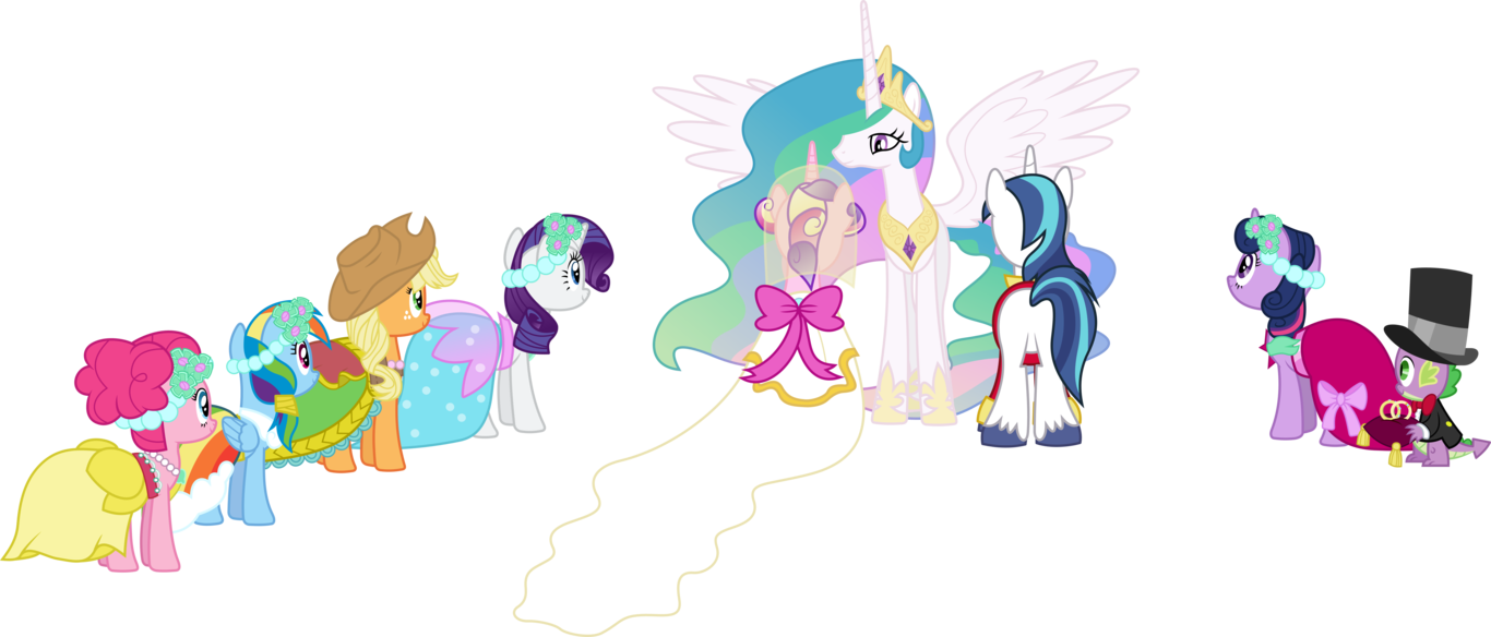 clipart freeuse download A Canterlot Wedding