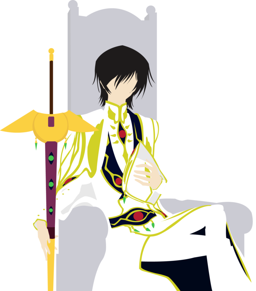 vector black and white download Lelouch Lamperouge Emperor Lelouch Mangaka Digital art Illustration