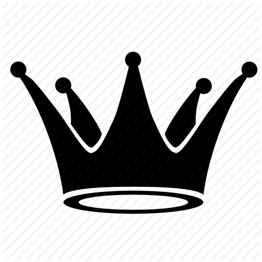 clip art black and white library Royal crowns