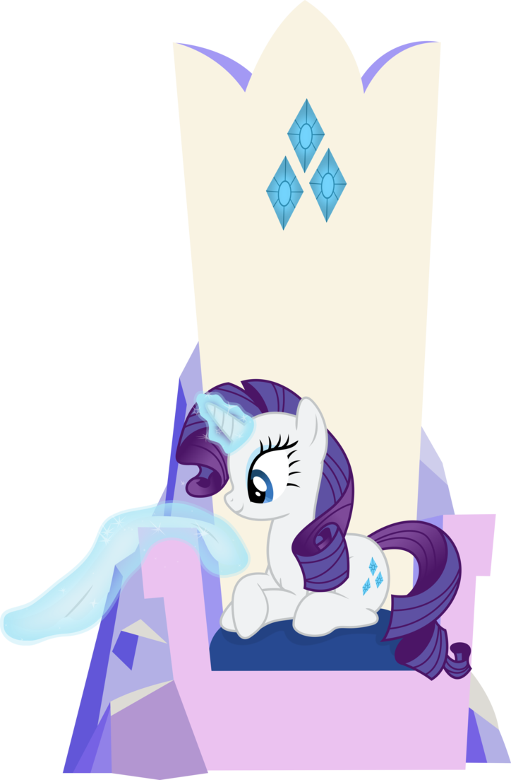 png freeuse Rarity Polishing Her Throne by xHalesx on DeviantArt