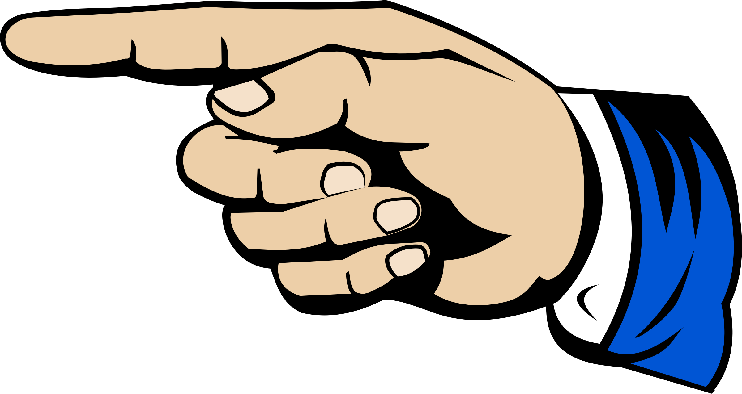graphic transparent stock Thumb clipart. Index finger digit clip.