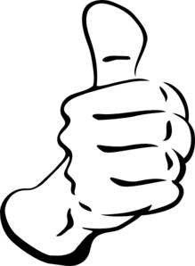 clip art Thumbs Up Clip Art at Clker