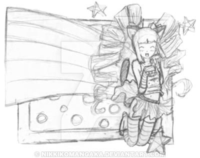 vector transparent stock Nyan Cat Inspired Thumbnail sketch by Nikkikomangaka on DeviantArt