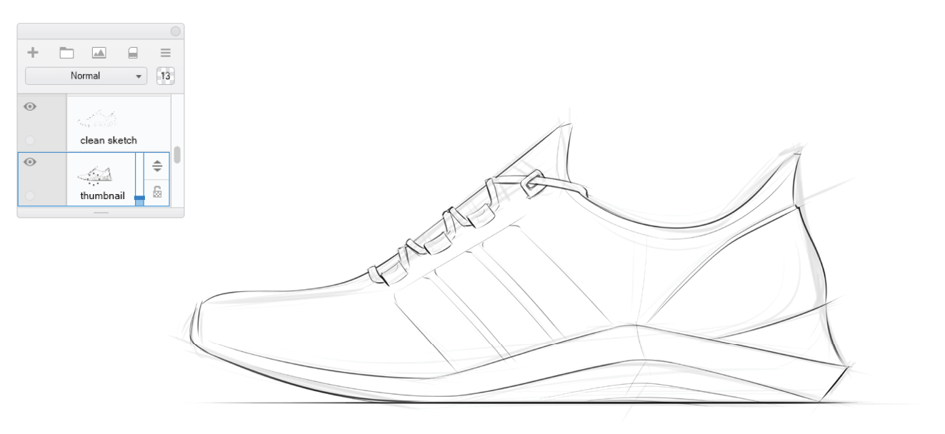image free library Hudson rio how to. Drawing sneakers sketch