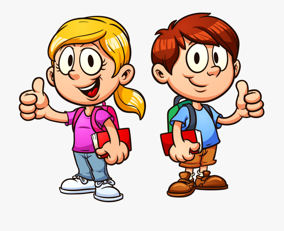 picture transparent library Png clip art student. Thumbs clipart kid