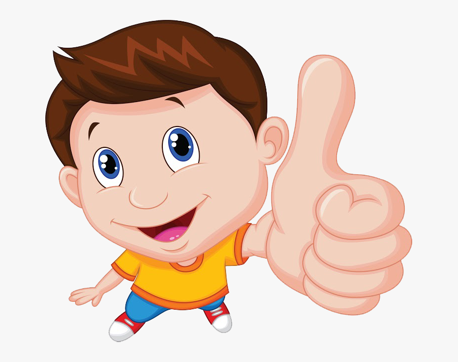 vector royalty free library Hey parents up boy. Thumbs clipart kid