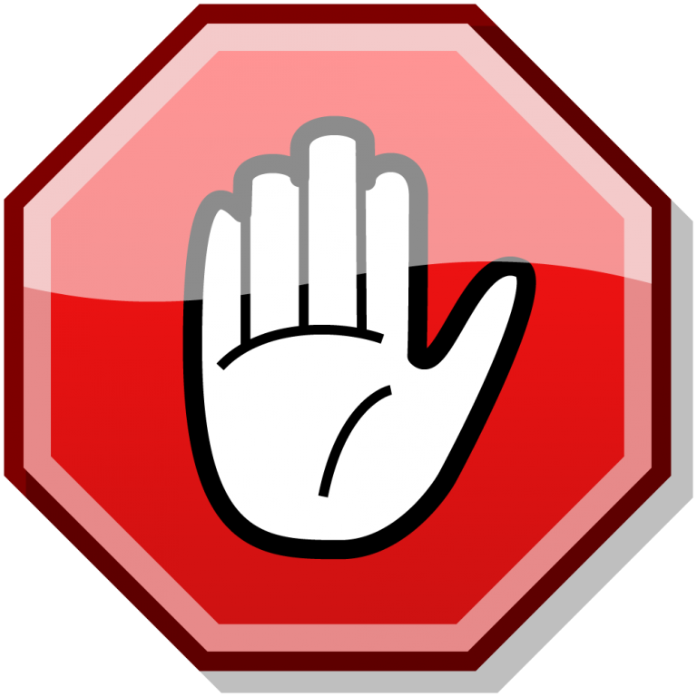 banner freeuse stock Thumbs clipart printable. Of stop sign template
