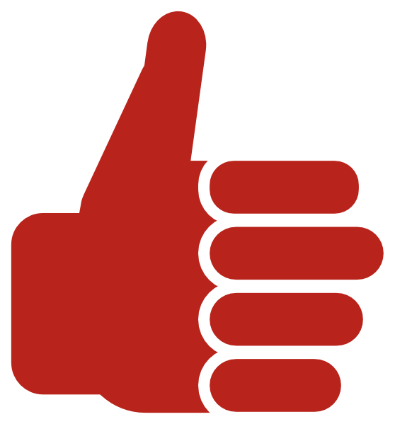 royalty free Red Thumb Up Clip Art at Clker