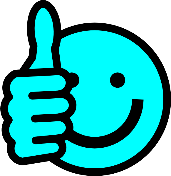png free download Baby blue thumbs up. Waking clipart late