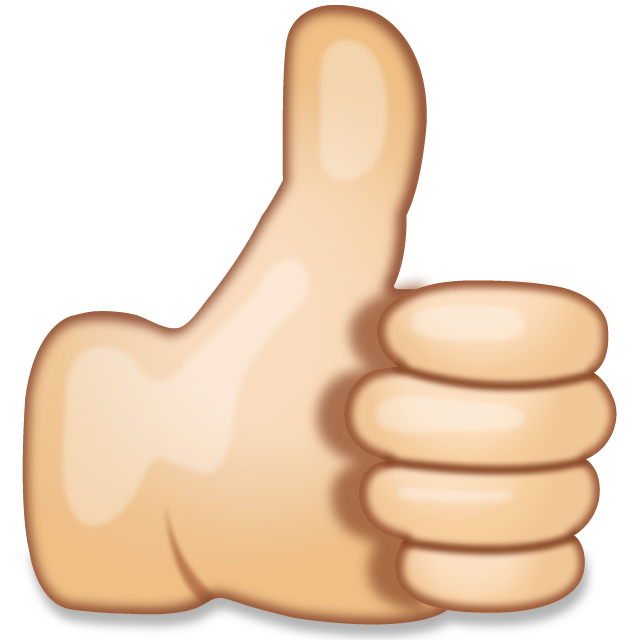 svg free library Download Thumbs Up Hand Sign Emoji