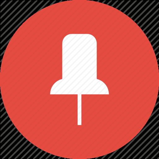 banner royalty free library thumbtack transparent flat #104815028