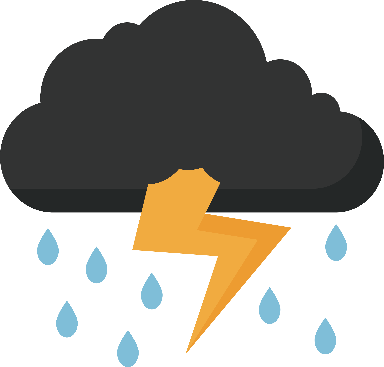 svg free download Lightning clip art rain. Clipart thunder
