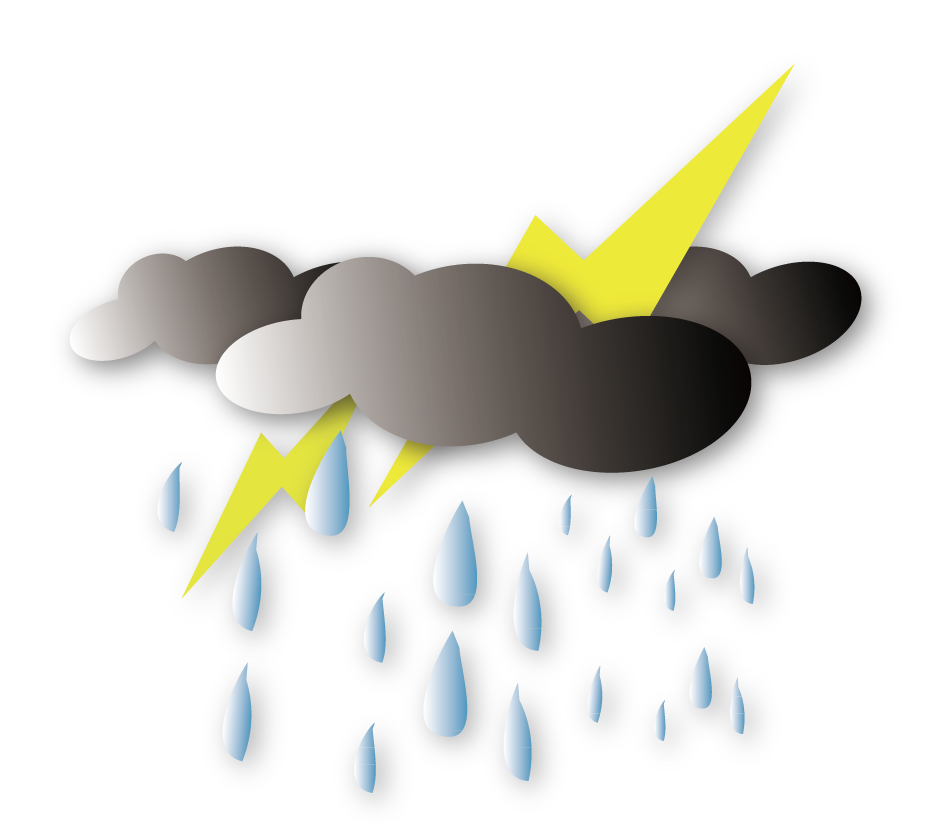 svg transparent library Thunder and lightning clipart. Monsoon download clip art