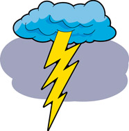 vector royalty free download Free cliparts download clip. Clipart thunder and lightning