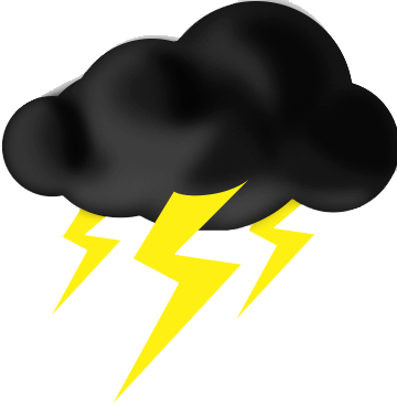 jpg library library Thunder clipart. Download thunderstorm free png