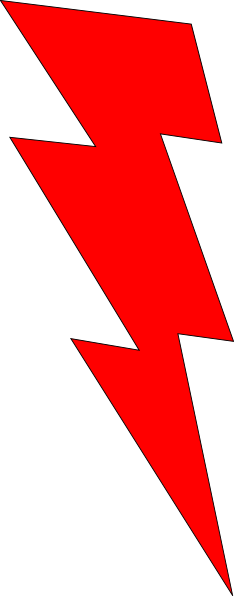 freeuse download Lightening strike free on. Bolt clipart lightning rod