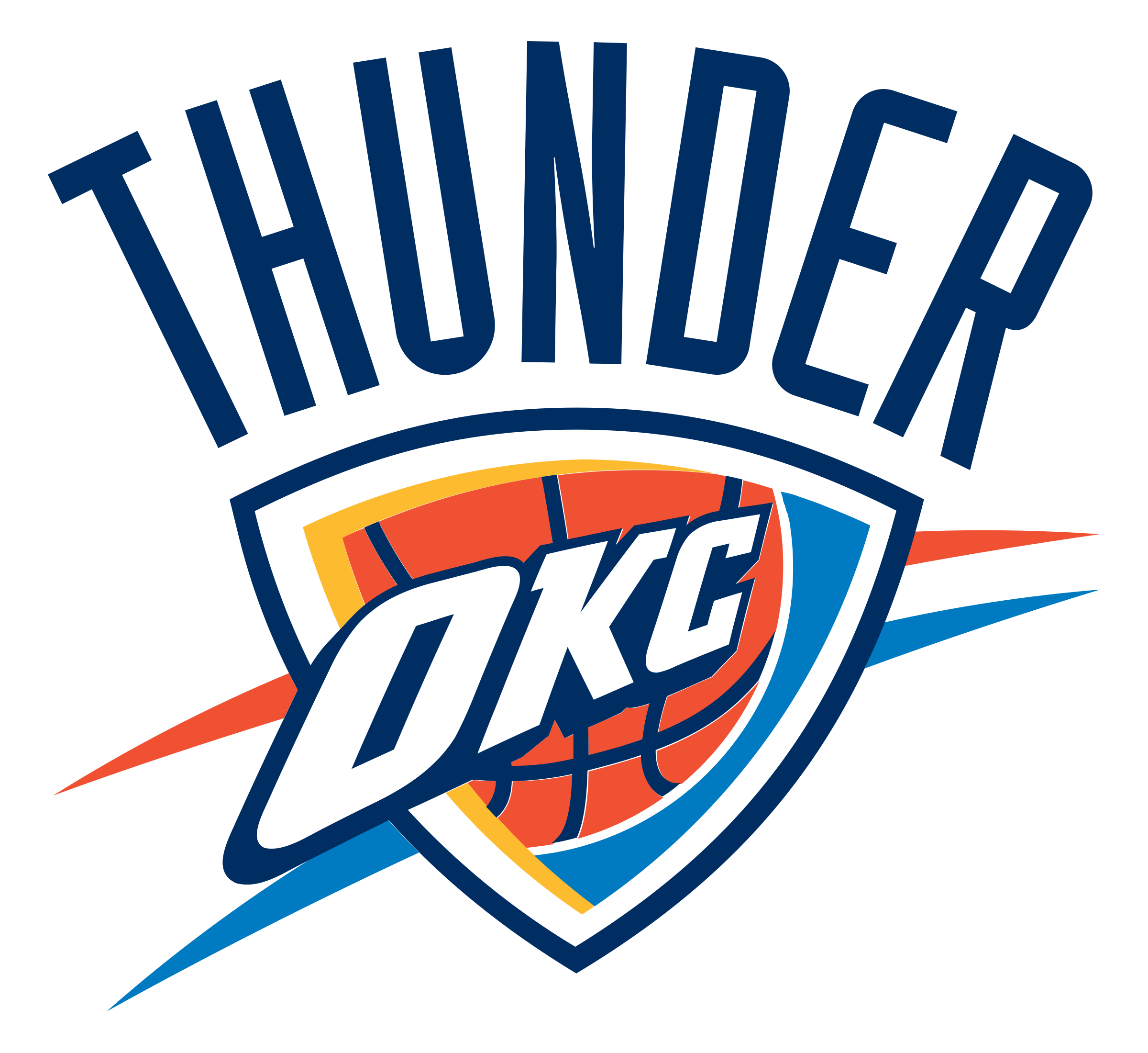 picture library stock Oklahoma City Thunder Logo PNG Transparent