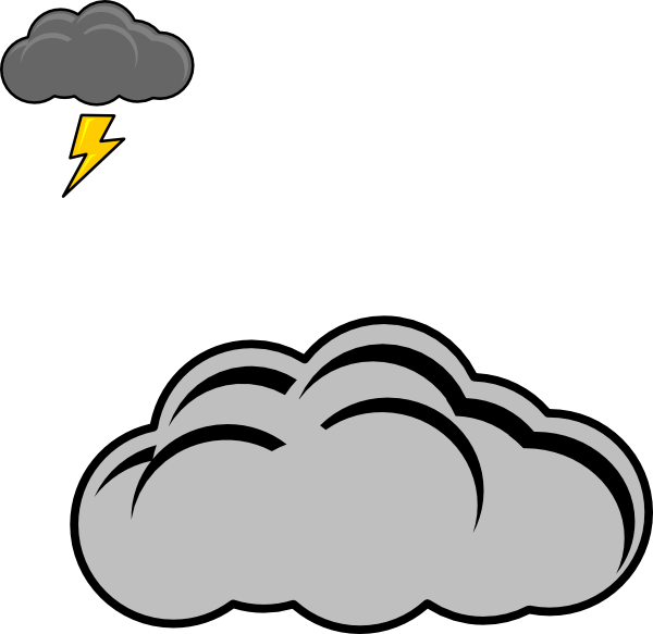 png stock Cloud clip art at. Clipart thunder.