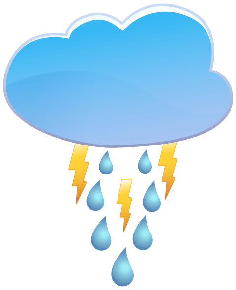 clipart royalty free stock Cloud rain and weather. Thunder clouds clipart