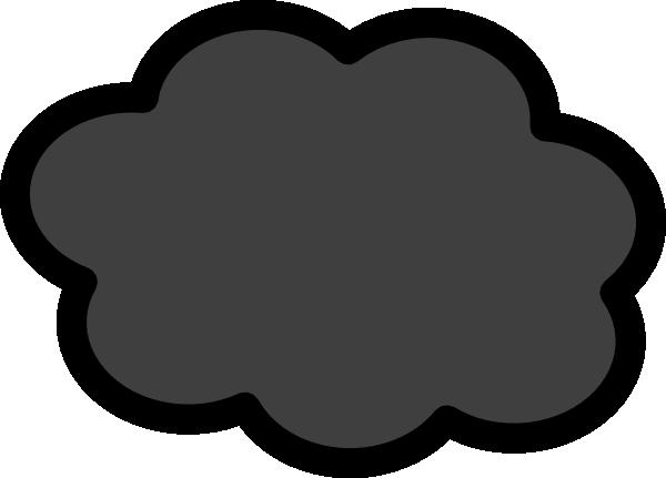 clip art transparent stock Thunder clouds clipart. Dark storm cloud clip