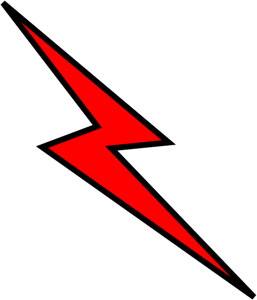 jpg transparent download Thunderbolt clipart. Lightning clip art at