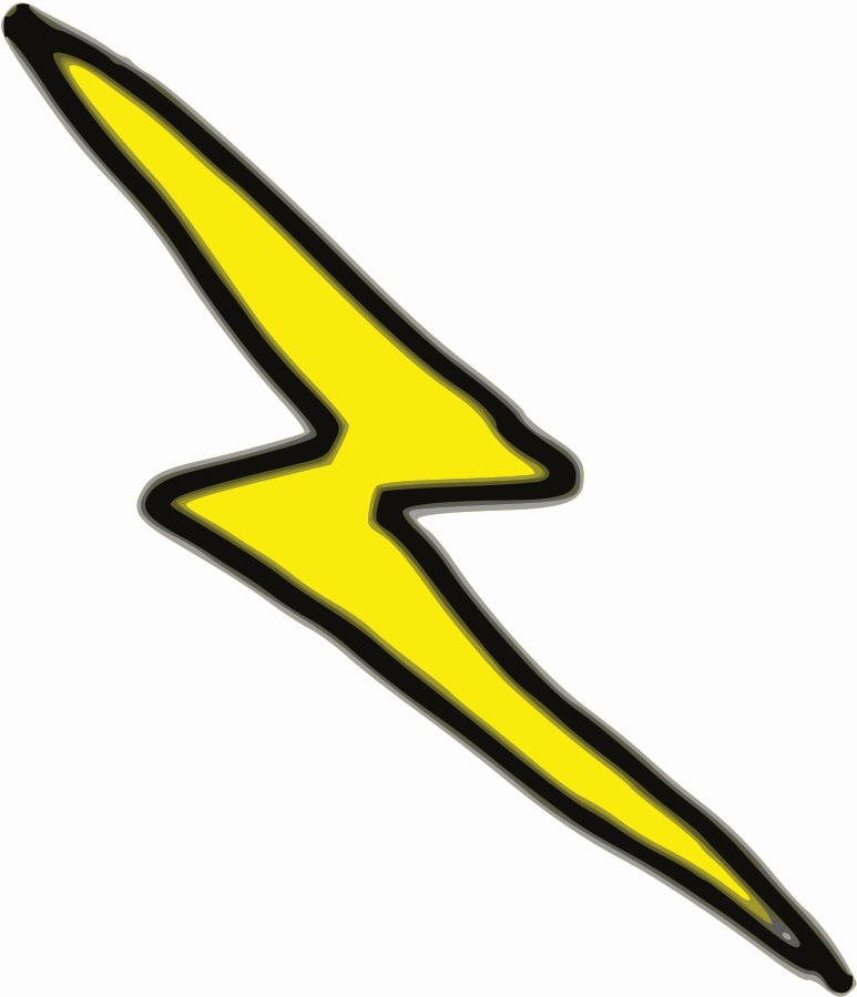 clipart freeuse Thunderbolt lightning thunderstorm clip. Thunder bolt clipart