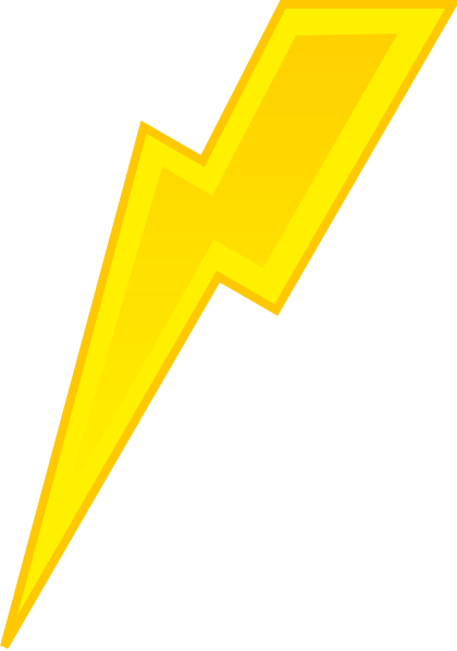 vector freeuse stock Spite lightning clip art. Thunderbolt clipart