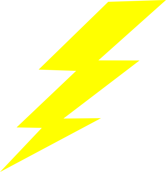 png download Bolt clipart electric sign. Neon lightning free on.