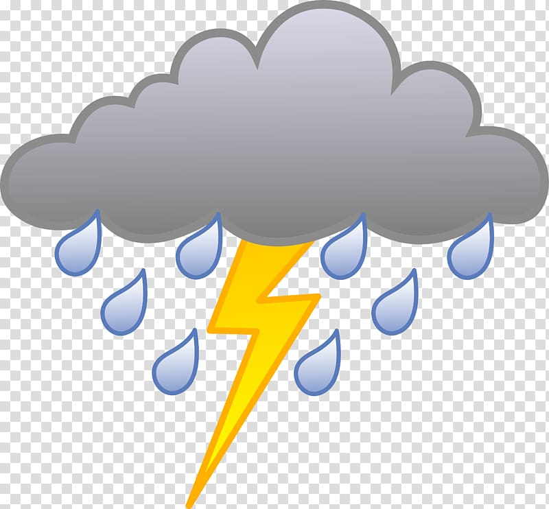clipart freeuse library Rain cloudy weather for. Thunderstorm clipart