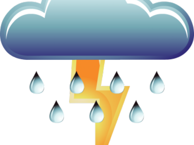 svg free download Thunderstorm clipart. Rainy cloud free on