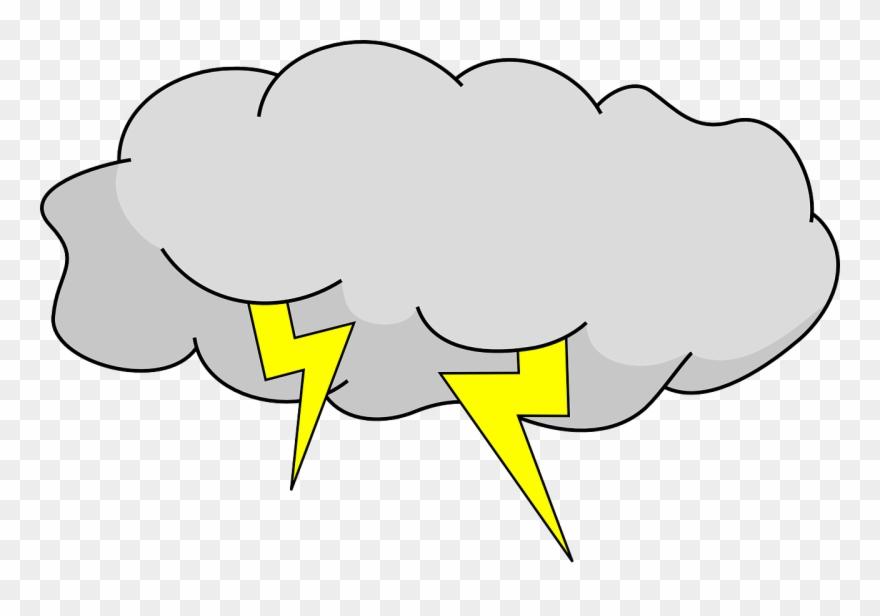 clipart Thunder cloud clipart. Thunderstorm storm shop .