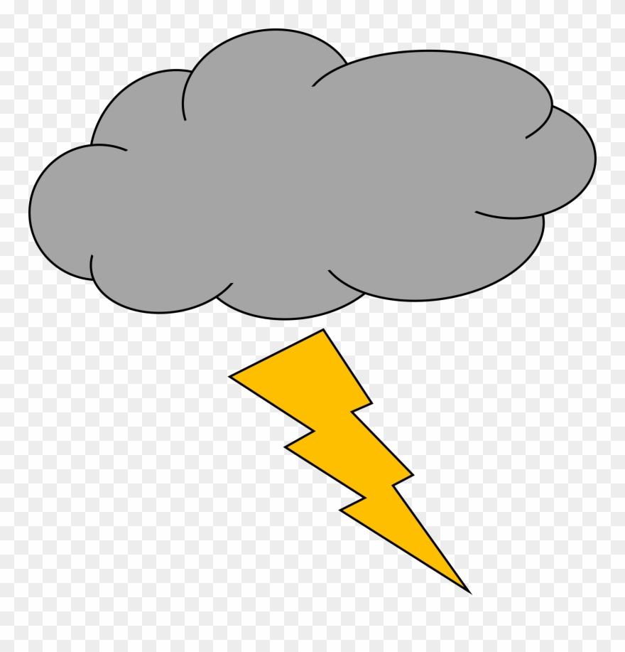 png royalty free Thunderstorm lightning strike storm. Thunder cloud clipart.