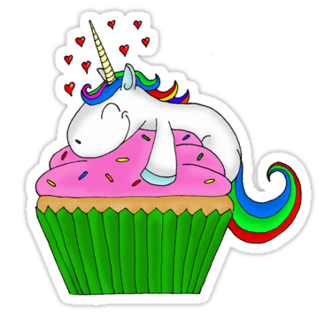 png free library Einhorn Cupcake