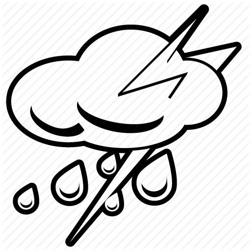 svg free download Thunderstorm drawing. At getdrawings com free