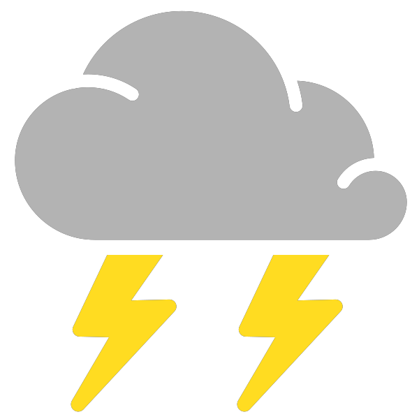 png freeuse stock simple weather icons thunderstorms