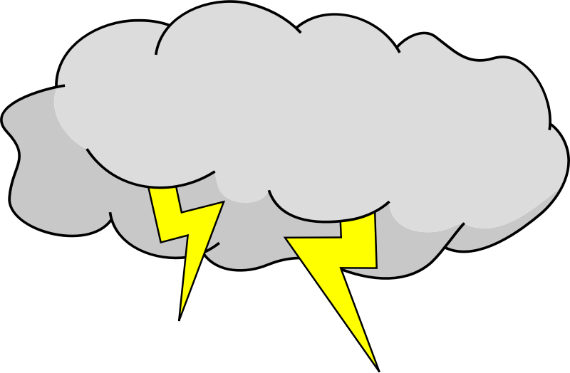 png black and white thunderstorm clipart stormy cloud #84852401