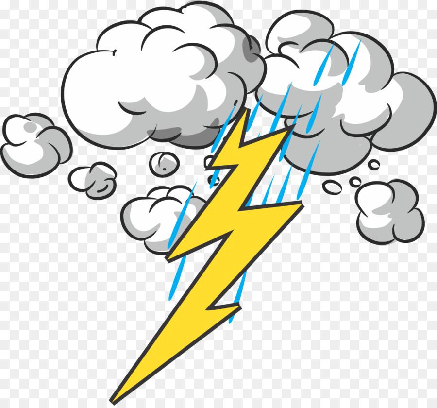 image black and white library Rain cloud lightning . Thunderstorm clipart thunder lighting