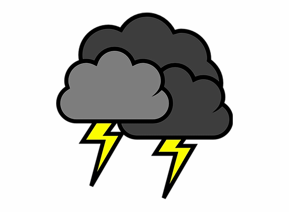 png freeuse stock Thunderstorm clipart thunder lighting. Lightning stormy weather storms