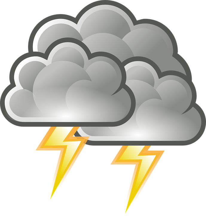 png black and white download Thunderstorm x free . Clipart thunder and lightning